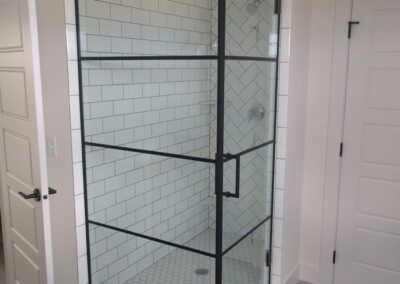 Twin Cities Shower Door Install 1