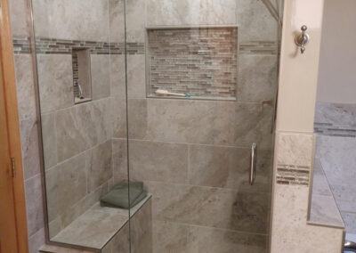 Twin Cities Shower Door Install 11