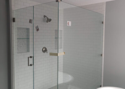Twin Cities Shower Door Install 2
