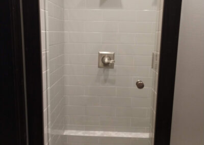 Twin Cities Shower Door Install 6