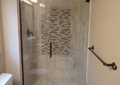 Twin Cities Shower Door Install 7