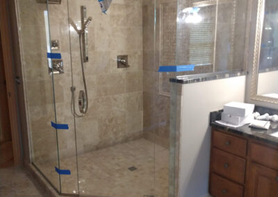 Twin Cities Shower Door Install 8