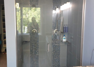 Twin Cities Shower Door Install 9